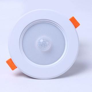 Đèn Led âm trần cảm ứng hồng ngoại 5W BBS302