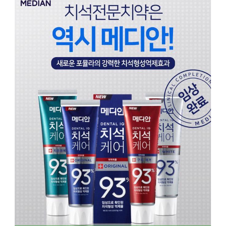 Kem đánh răng làm trắng Median Hàn Quốc