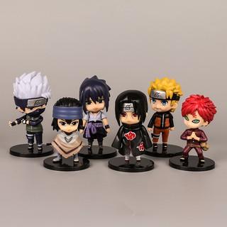 Bộ 6 Tượng Mô Hình Naruto