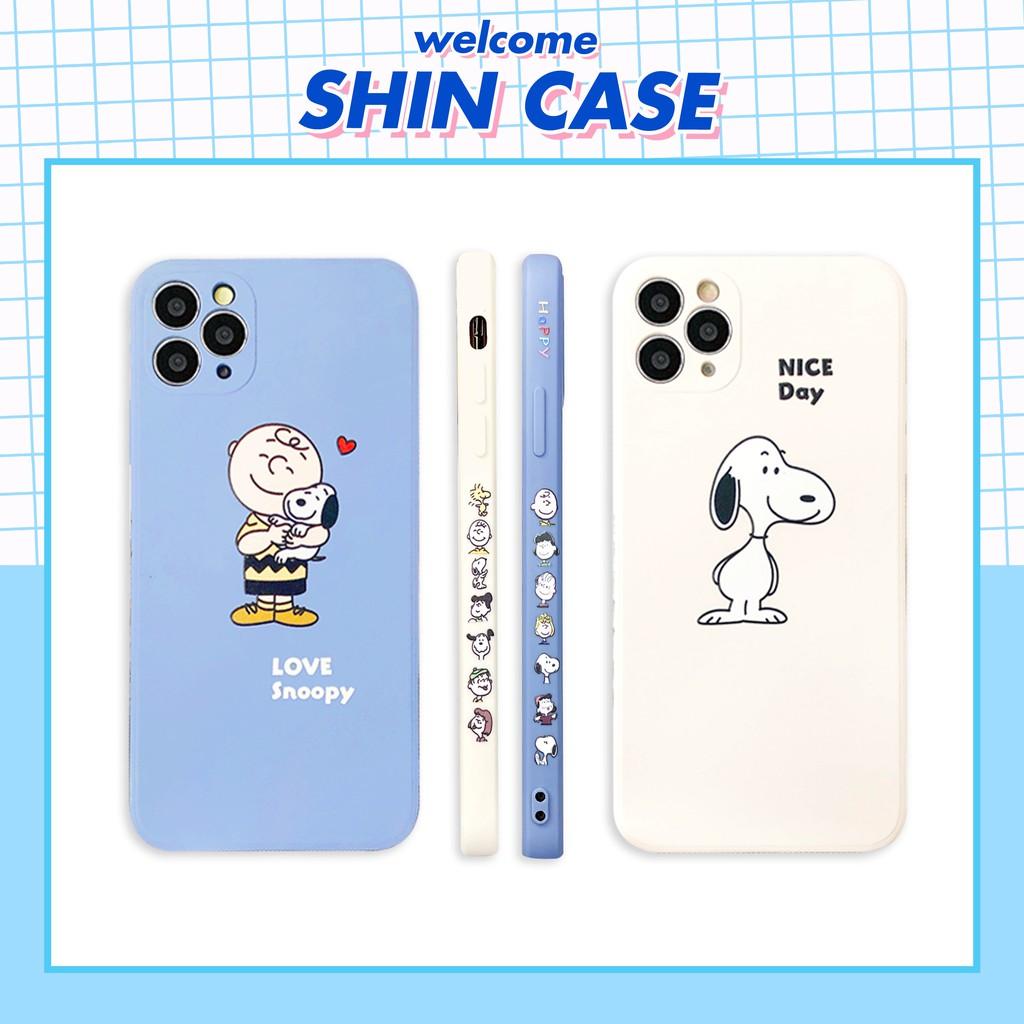 Ốp lưng iphone - Ốp iphone Love Snoopy in viền BVC 5/5s/6/6plus/6s/6splus/7/7plus/8/8plus/x/xs/11/12/pro/max/plus/promax