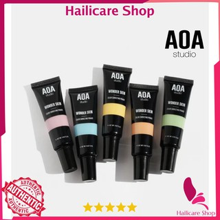 [Nhập Mỹ] Kem Lót Điều Chỉnh Tone Da AOA Wonder Skin Color Correcting Primer Green Yellow Purple Orange thumbnail