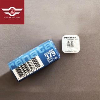 Viên pin đồng hồ RENATA chính hãng Thụy Sĩ 521 SR521SW 379 vỉ 1 viên ảnh thật có bảo hành thumbnail
