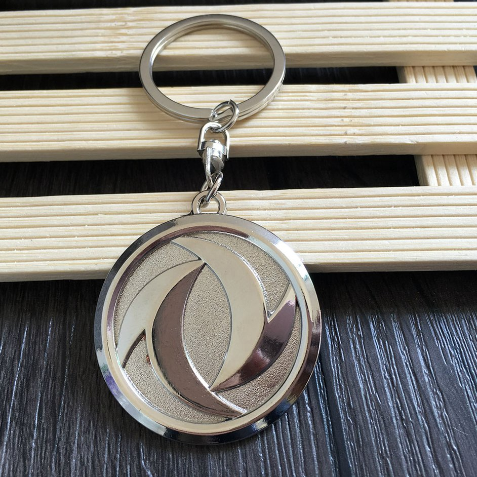 S+For Dongfeng Car Logo Keychain Bag Keyring Pendant Hanging Ornaments Decor
