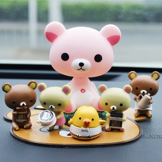 mô hình chú gấu đáng yêu trang trí