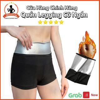 (Sale sốc) Quần legging cỡ ngắn MissGym đánh tan mỡ, 1 tuần giảm 0.5cm, eo thon, kích thích đổ mồ hôi (Cỡ ngắn) thumbnail
