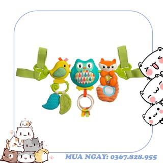 Thanh đồ chơi treo nôi, cũi, xe đẩy, ghế ngồi ô tô hình chim – có nhạc Infantino 216265