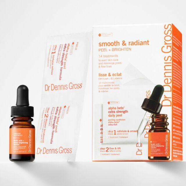 [14 peel + serum] Bộ peel da và serum làm sáng, mờ thâm, chống lão hóa Dr Dennis Gross Smooth & Radi - 3441087 , 935662910 , 322_935662910 , 1195000 , 14-peel-serum-Bo-peel-da-va-serum-lam-sang-mo-tham-chong-lao-hoa-Dr-Dennis-Gross-Smooth-Radi-322_935662910 , shopee.vn , [14 peel + serum] Bộ peel da và serum làm sáng, mờ thâm, chống lão hóa Dr Dennis