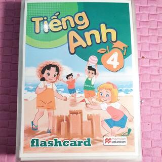 Thẻ Flashcards Bộ Giáo Dục - Lớp 4 (163 thẻ)