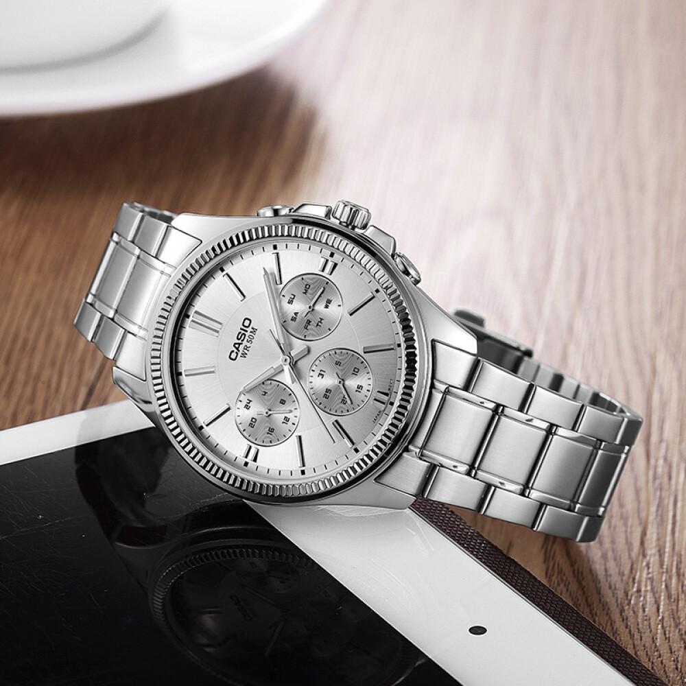 Đồng hồ nam dây kim loại Casio Standard chính hãng Anh Khuê MTP-1375D-7AVDF