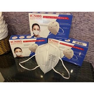 Khẩu trang N95 dùng được 10 lần theo quy chuẩn Mỹ lọc bụi mịn, kháng khuẩn( 1 cái)