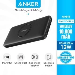 Pin sạc không dây dự phòng ANKER Wireless PowerCore 10.000mAh - A1615 thumbnail