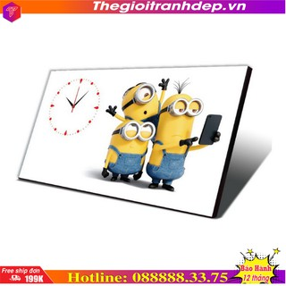 Đồng hồ bàn - Đồng hồ bàn  hoạt hình Minion
