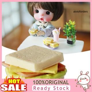 Bánh Sandwich Đồ Chơi Mini Cho Nhà Búp Bê