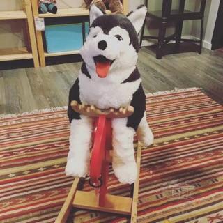 Chó bông ôm Alaska Ikea Indonesia 100%