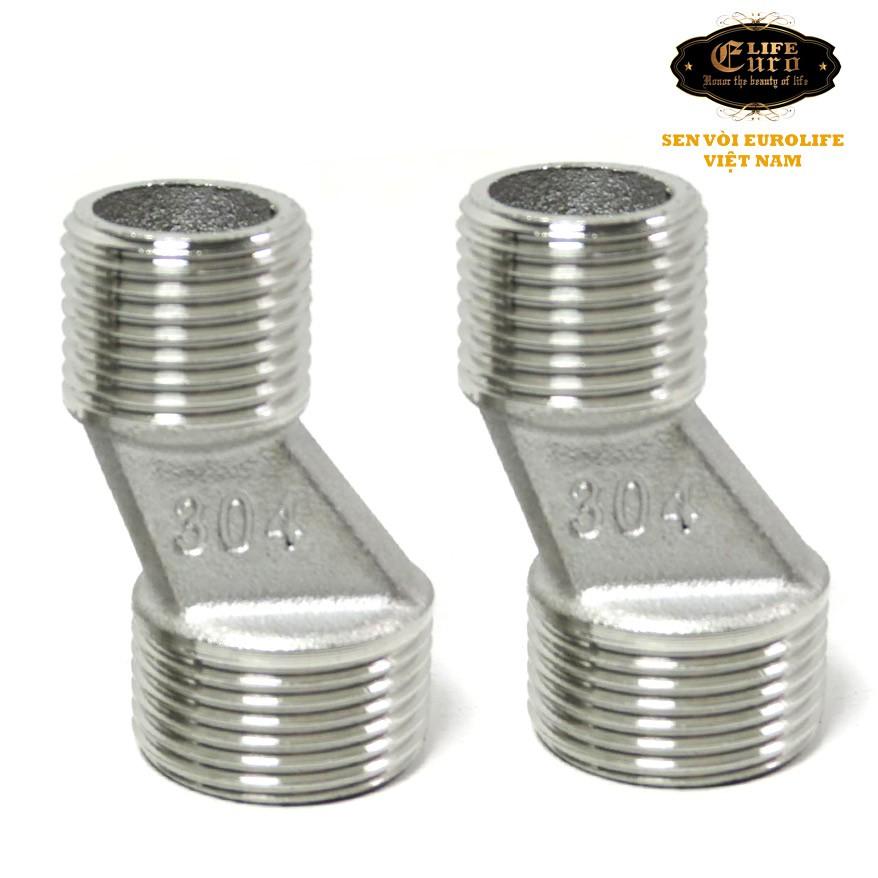 Bộ 2 chân quỳ chữ Z Inox SUS 304 lắp đặt cho...