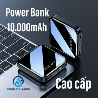 Sạc dự phòng Power Bank 10.000mAh pin sạc dự phòng thời trang tích hợp sạc nhanh thumbnail