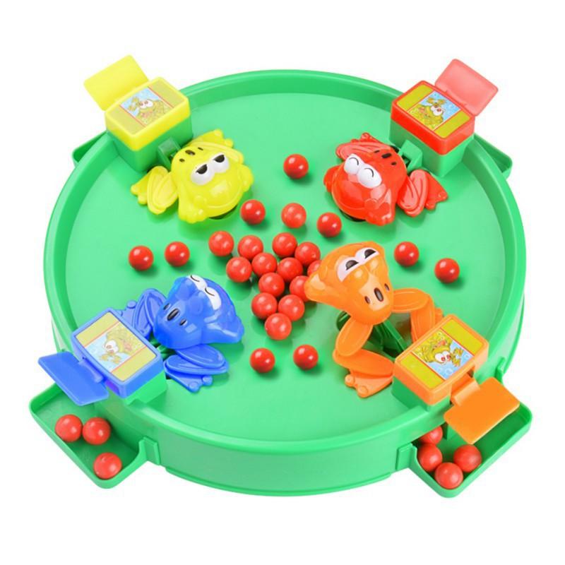 BOBORA Childrens Educational Toys Frog peas parent-child toy