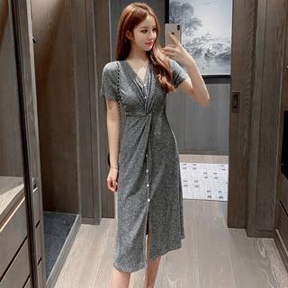Đầm Thời Trang Retro Pháp Xinh Xắn Dành Cho Nữ