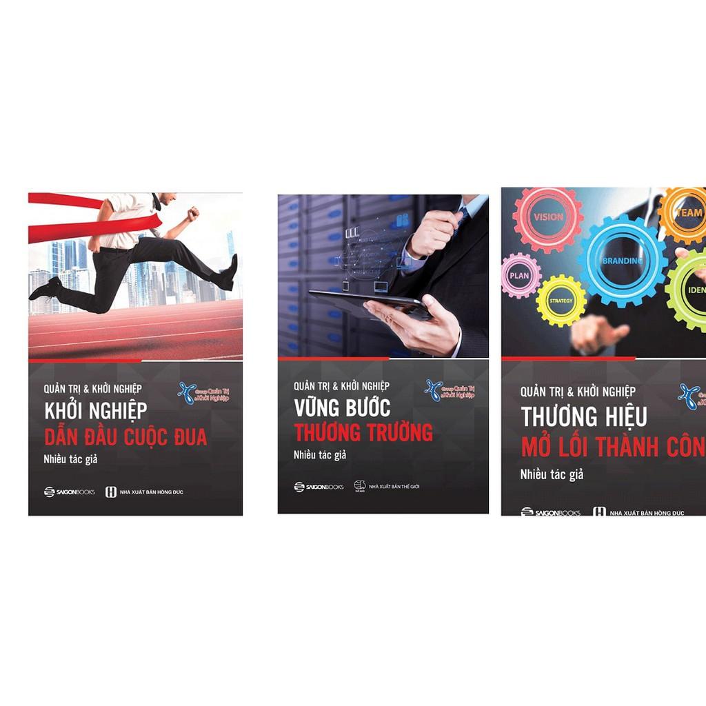[ Sách ] ComBo Quản Trị Và Khởi Nghiệp - Vững Bước Thương Trường - Thương Hiệu Mở Lối Thành Công - D