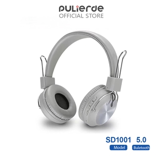 Tai Nghe Pulierde SD11 Không Dây Bluetooth 5.0 Có Thể Gấp Lại Kèm Micro Hỗ Trợ Thẻ Nhớ TF