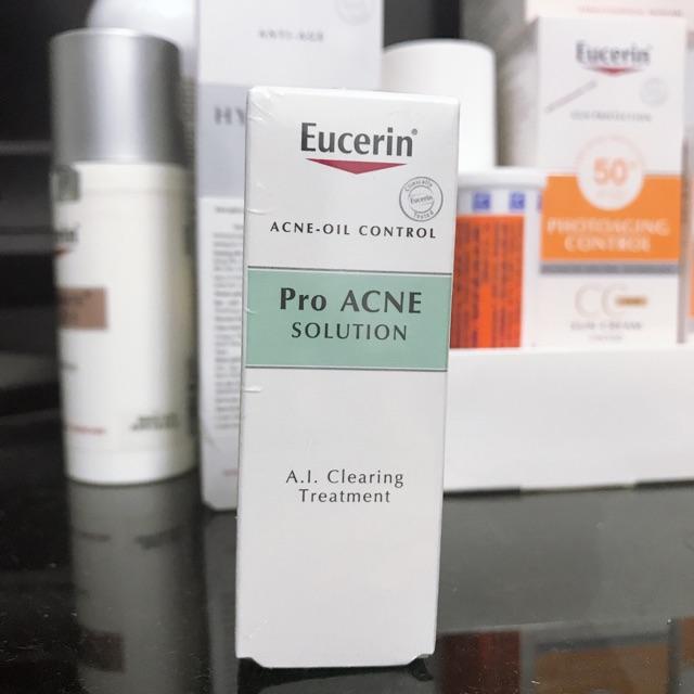 Kem đặc trị mụn viêm Eucerin ProAcne AI Clearing Treatment 5ml
