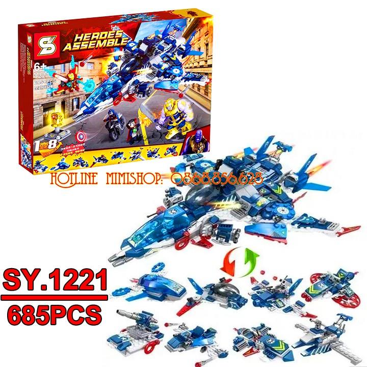 Bộ Lego Xếp Hình Ninjago Super Heroes - Biệt Đội Siêu Anh Hùng. Gồm 685 Chi Tiết. Lego Ninjago Lắp Ráp Đồ Chơi Cho Bé. - 13712363 , 1841026275 , 322_1841026275 , 350000 , Bo-Lego-Xep-Hinh-Ninjago-Super-Heroes-Biet-Doi-Sieu-Anh-Hung.-Gom-685-Chi-Tiet.-Lego-Ninjago-Lap-Rap-Do-Choi-Cho-Be.-322_1841026275 , shopee.vn , Bộ Lego Xếp Hình Ninjago Super Heroes - Biệt Đội Siêu