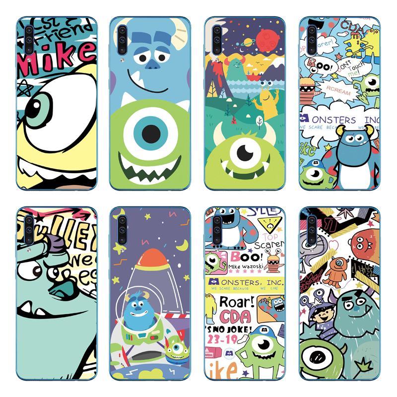Cartoon Monster Soft Cover Samsung Galaxy A70 A50 A40 A30 A20 A10 TPU Case
