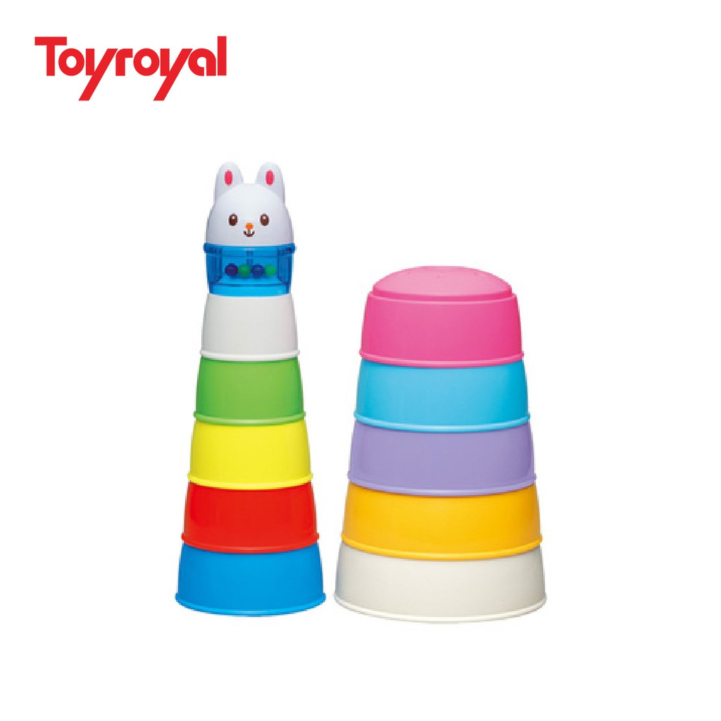 Bộ xếp tháp Thỏ con Toyroyal - 2790205 , 162877360 , 322_162877360 , 230000 , Bo-xep-thap-Tho-con-Toyroyal-322_162877360 , shopee.vn , Bộ xếp tháp Thỏ con Toyroyal