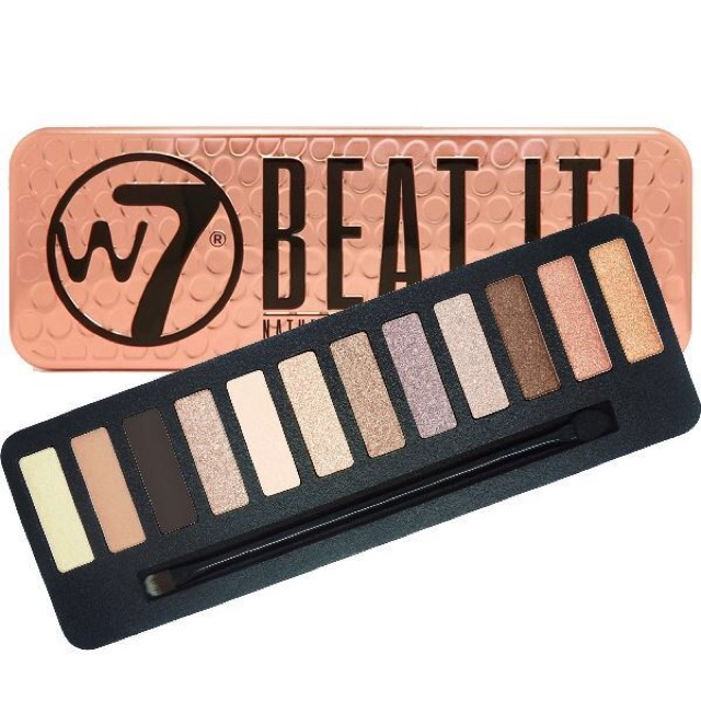 BẢNG MẮT W7 BEAT IT NATURAL NUDE