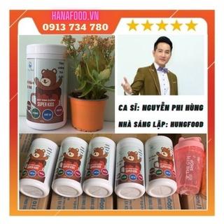 Bột dinh dưỡng cao cấp cho bé SUPER KIDS 500g 7 loại hạt hữ cơ, Bột ngũ cốc cao cấp SUPER KIDS 500g Organic cho bé thumbnail