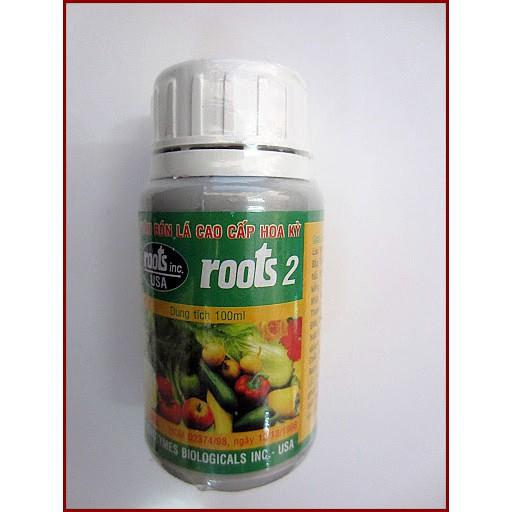 Kích Ra Rễ Roots 2 (100ml) - phân bón lá Roots2 - Ra Rễ cực mạnh Roots2