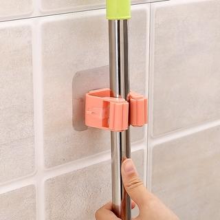 Giá đỡ chổi cây lau nhà gắn tường không để lại vết sáng tạo tiện lợi 4