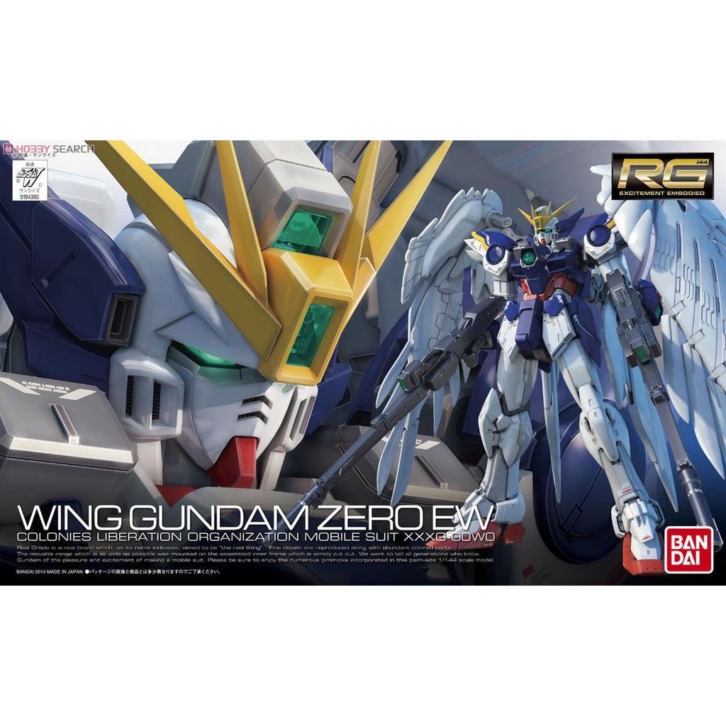 Mô hình Gundam RG17 XXXG-00W0 Wing Gundam Zero EW