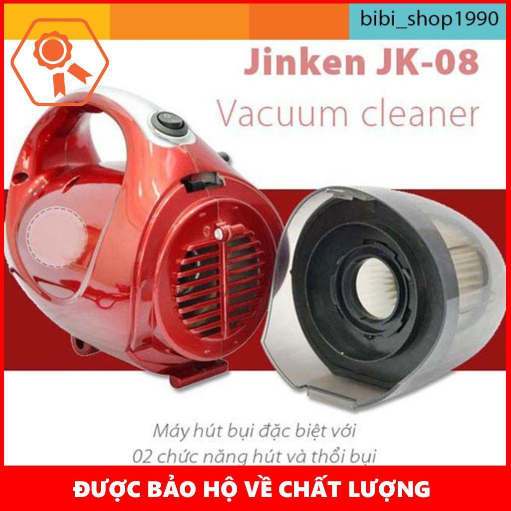 [RẺ NHẤT]  Máy hút bụi 2 Chiều Mini Vacuum Cleaner JK-8 đỏ tặng kèm 5 móc siêu dính