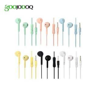 Tai nghe có dây GOOJODOQ U19 dài 1.2m tiện dụng
