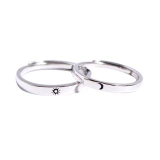 Nhẫn Đôi Bạc Ý S925 Quà Tặng Tình Bạn Tình Yêu ND2516 Bảo Ngọc Jewelry