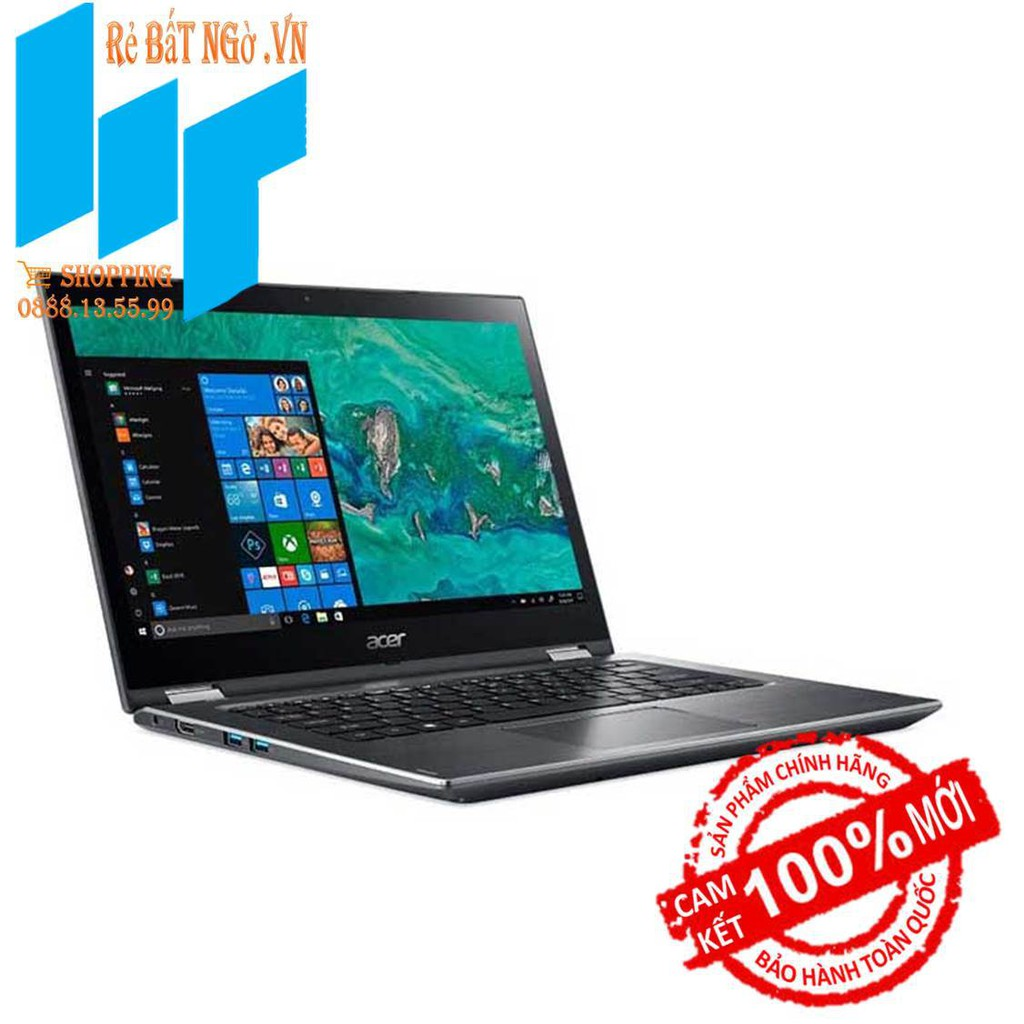 Laptop Acer Spin 3 SP314-51-36JE NX.GUWSV.005 14inch FHD-i3-7130U-4GB-1TB HDD-HD 620-Win10-1.7 kg
