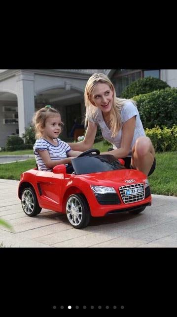 ô tô điện cho bé đươi 3 tuổi , có điều kiển từ xa ( xe đã lắp và hoàn...