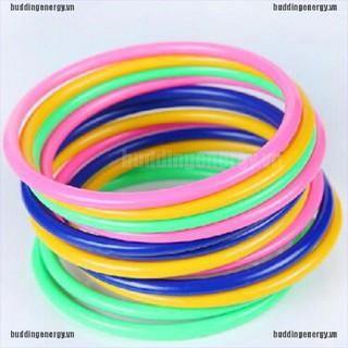 {buddi} 5Pcs 13.5CM Hoop Ring Toss Cast Circle Sets Educational Toy Kids Puzzle Game{LJ}