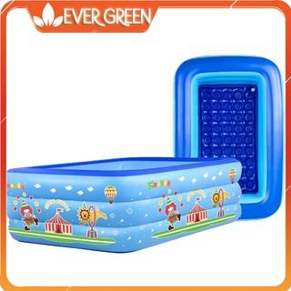 Bể bơi phao 3 tầng 1m5 cho bé có chống trơn