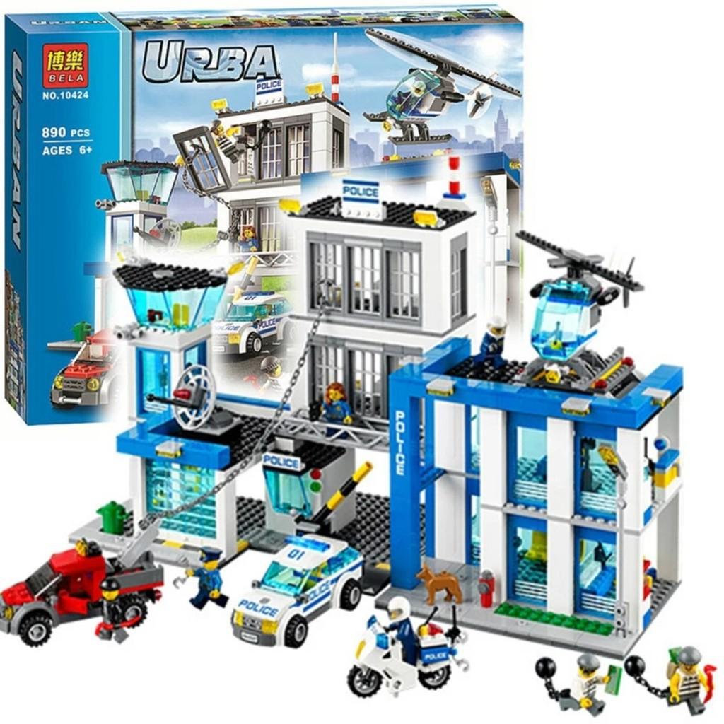 lắp ráp Lego City 60047 URBAN Trụ Sở Cảnh Sát Thành Phố bela 10424 hàng Quảng Châu - 22144934 , 7700413865 , 322_7700413865 , 580000 , lap-rap-Lego-City-60047-URBAN-Tru-So-Canh-Sat-Thanh-Pho-bela-10424-hang-Quang-Chau-322_7700413865 , shopee.vn , lắp ráp Lego City 60047 URBAN Trụ Sở Cảnh Sát Thành Phố bela 10424 hàng Quảng Châu
