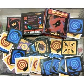 Bộ bài ma sói đầy đủ cơ bản hộp vuông gồm 76 quân bài