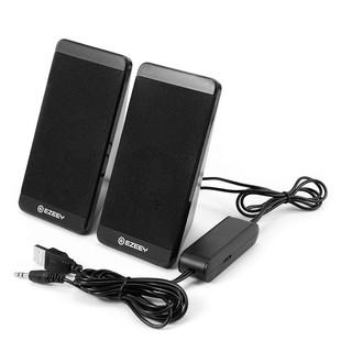 Loa vi tính 2.0 Ezeey S5 Âm thanh hay sử dụng cổng USB nguồn 5V thumbnail