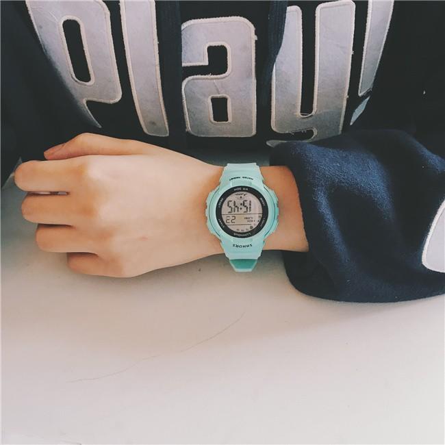 [Mã FAMAYFA2 giảm 10K đơn 50K] Đồng hồ nam nữ điện tử Shhors thể thao năng động DH45 Miucho