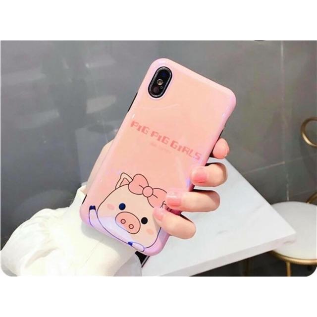Ốp Bóng Lợn Hồng Cute Lạc Lối - Cho IPhone 6/6s Plus và 7,8 Plus