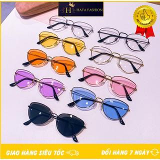 Mắt Kính Thời Trang 202 RETRO K266 Nhiều Màu Hot Trend