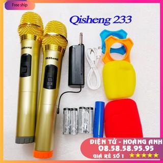 Mic đa năng Qisheng 233.. phiên bản 2020 ..bộ mic đôi