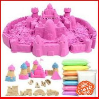 [RẺ NHẤT] Bộ đồ chơi tạo hình cát động lực cho bé LQ-003
