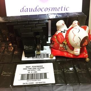 [vial] Nước hoa D&G The One Desire Dolce & Gabbana The One Desire EDP 1.5ml thumbnail