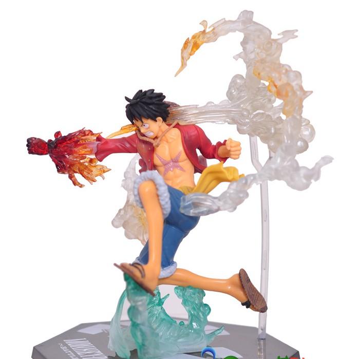 Mô hình Luffy mũ rơm One Piece haki siêu đẹp
